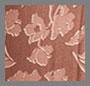 赭色郁金香印花