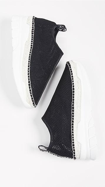 KENZO K-Lastic 编织底便鞋