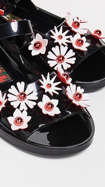 KENZO Chiba 花朵凉鞋