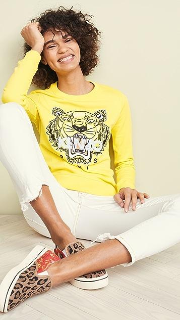 KENZO 老虎运动衫