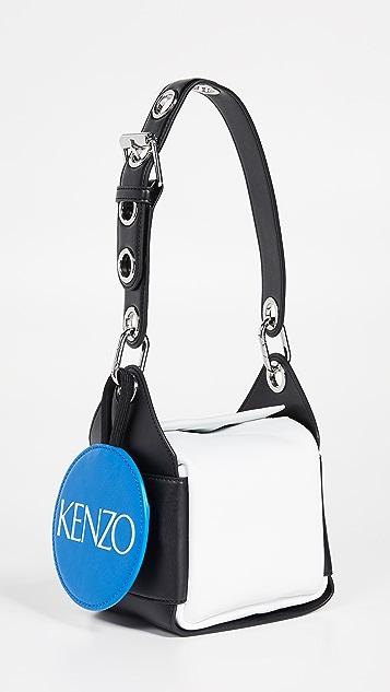 KENZO New Jolie 柔软迷你半月形单肩包