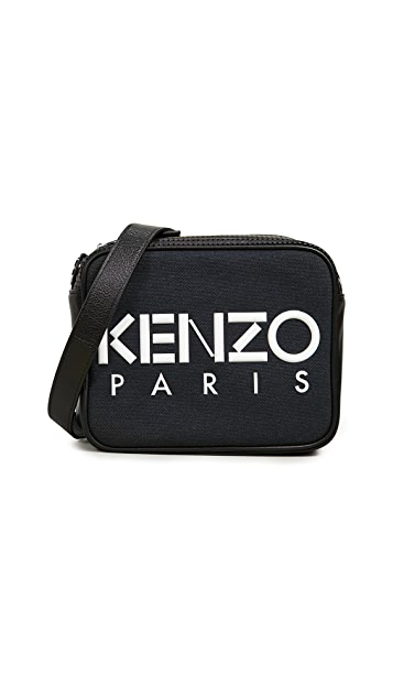 KENZO 徽标相机包