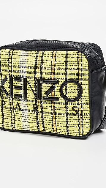 KENZO Checker 相机包