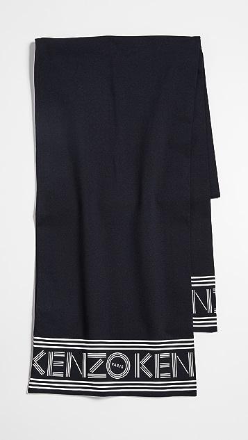 KENZO Kenzo Sport 围巾