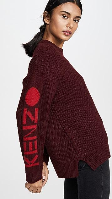 KENZO Chunky Kenzo Paris 毛衣