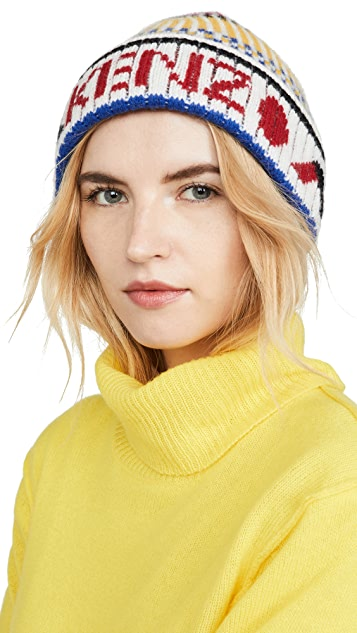 KENZO Peruvian 针织毛线帽