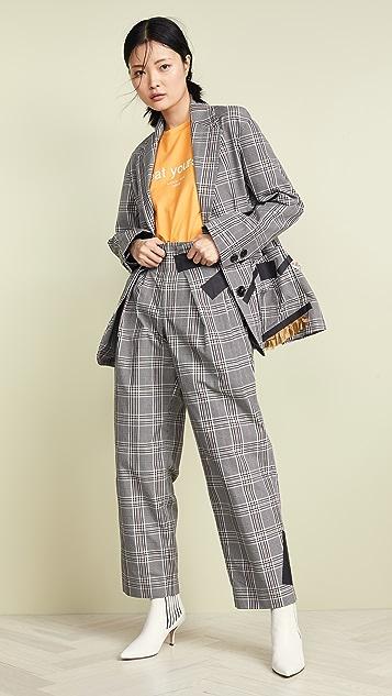 Kolor 格纹裤子