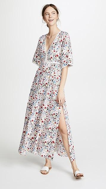 Kos Resort V 领长连衣裙