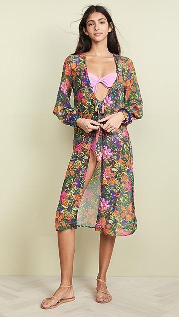 Kos Resort 棕榈印花和服