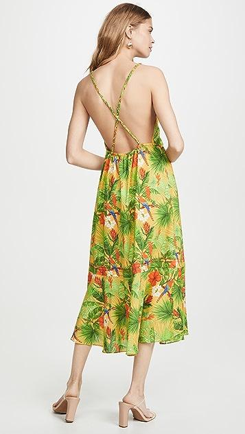 Kos Resort 热带风格连衣裙