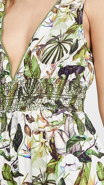 Kos Resort 热带花朵连身衣