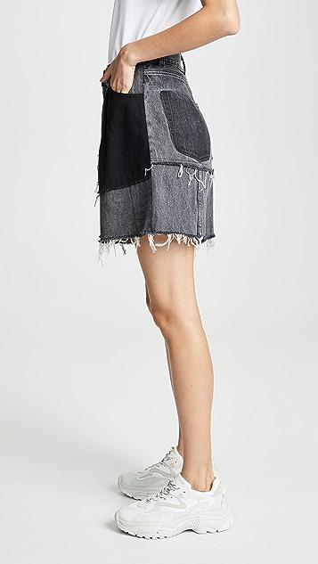 Ksenia Schnaider Reworked 牛仔短裤