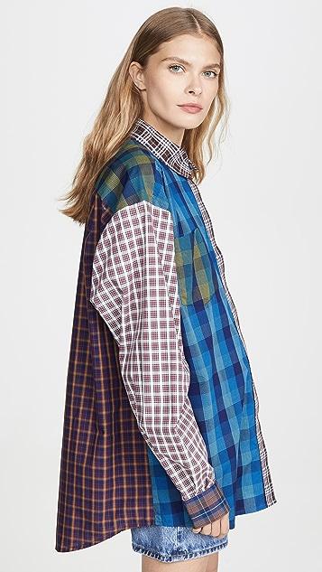 Ksenia Schnaider 混合彩色衬衫