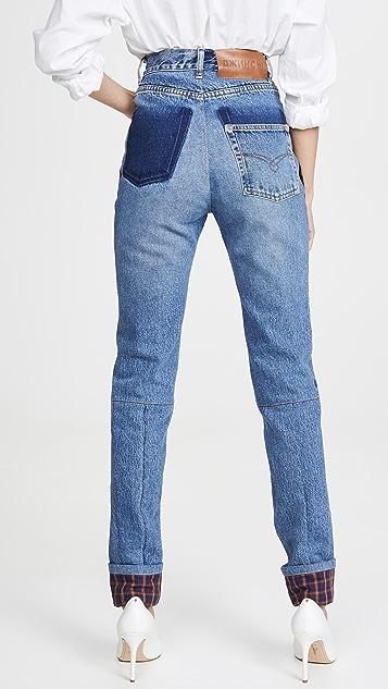 Ksenia Schnaider 口袋修身牛仔裤