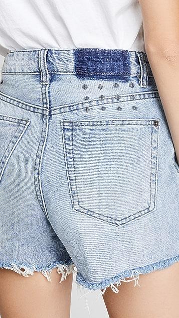 Ksubi 休闲交叠短裤