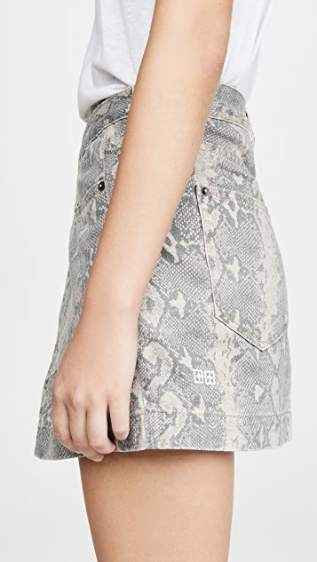 Ksubi Rap Kobra 半身裙
