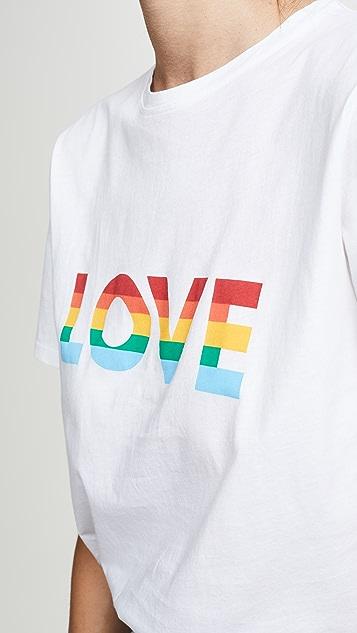 KULE The Modern Pride 彩虹旗帜 T 恤