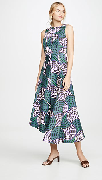 La Double J Pina 无袖连衣裙