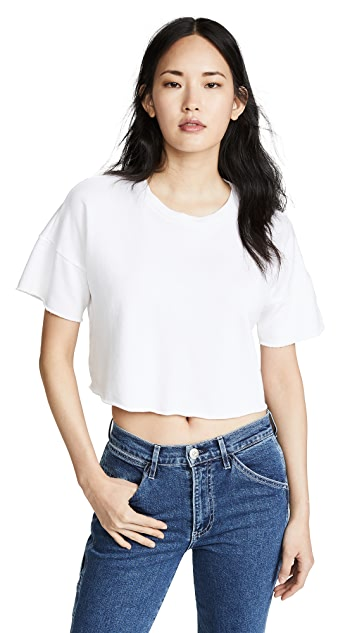 Lanston 短款 T 恤
