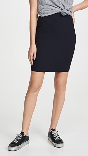 Lanston 及膝裙