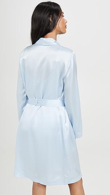 La Perla 真丝短款长袍