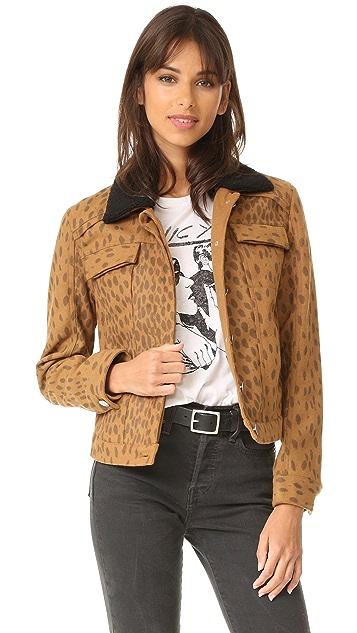 LAVEER Weekend 羊毛领夹克