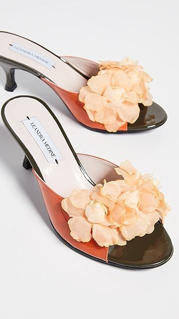 Leandra Medine Floret Flower 穆勒鞋