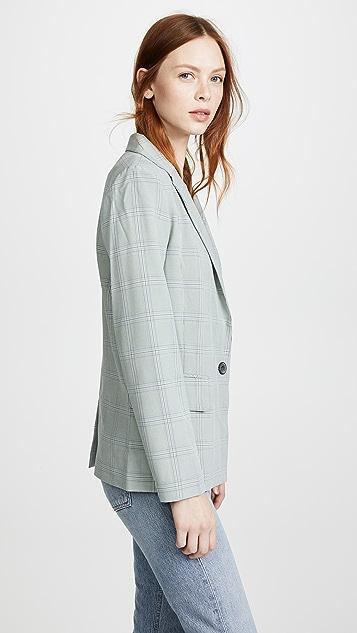 LEHA 格纹夹克