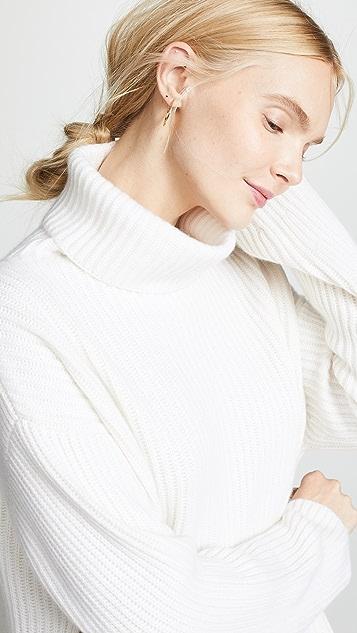 Le Kasha Lisbon 开司米羊绒高领毛衣