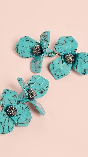 Lele Sadoughi Trillium Bouquet 耳环