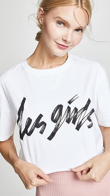 Les Girls Les Boys Les Girls 短款 T 恤