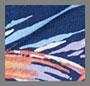 新波纹平纹针织面料