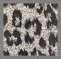 豹纹提花织物