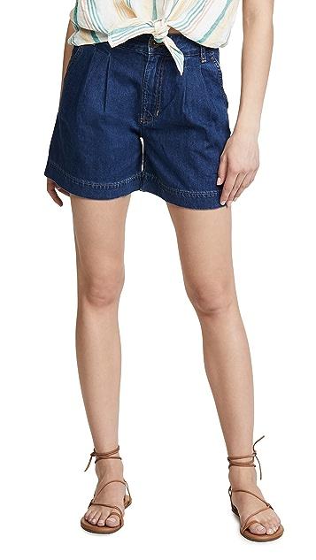 Lee Vintage Modern 褶皱短裤