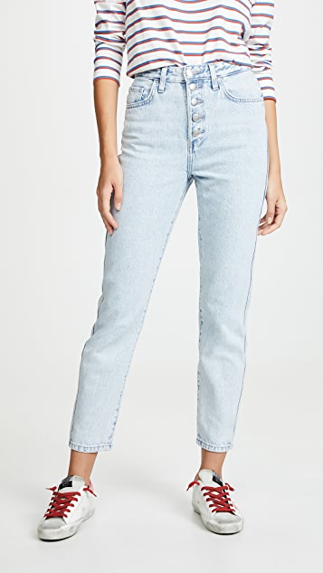 Lee Vintage Modern 直筒牛仔裤