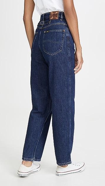 Lee Vintage Modern Stovepipe 休闲高腰牛仔裤
