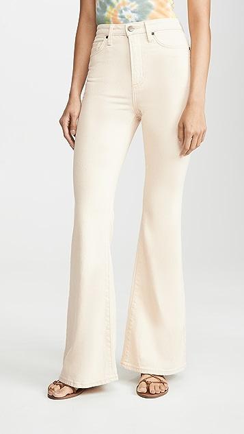 Lee Vintage Modern 高腰喇叭牛仔裤