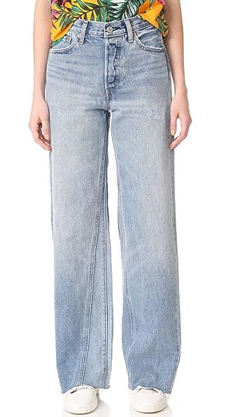 Levi's Altered 阔腿牛仔裤