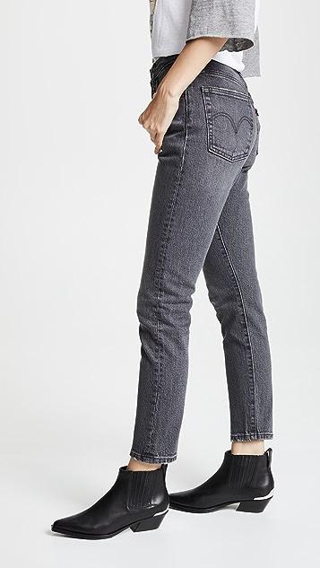 Levi's 501 弹性紧身牛仔裤