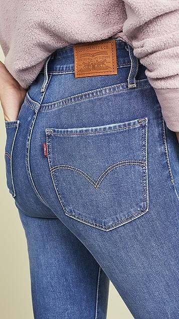 Levi's 721 高腰紧身牛仔裤