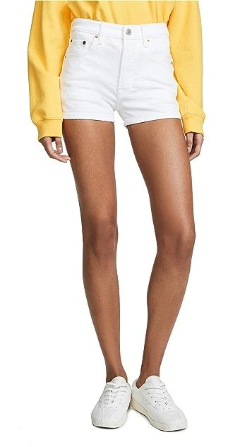 Levi's 501 高腰短裤