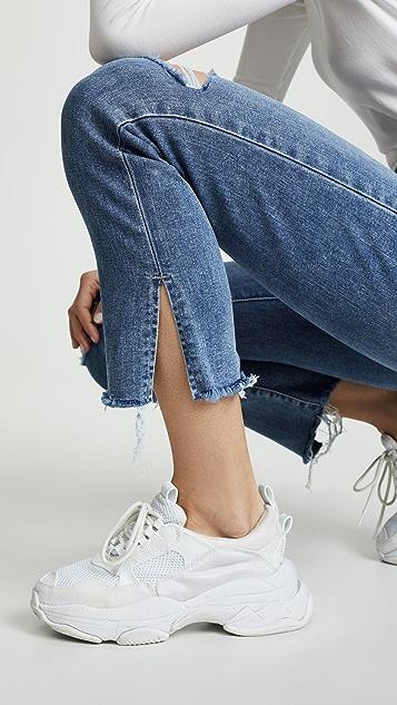 Levi's 724 高腰直脚九分牛仔裤
