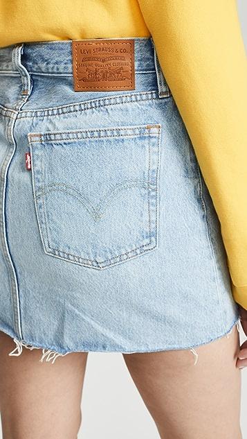 Levi's Decon 拉链半身裙