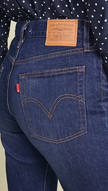 Levi's Wedgie Icon Fit 牛仔裤