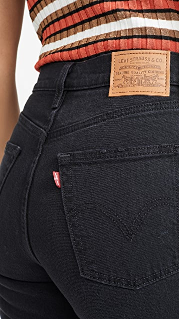 Levi's Ribcage 九分喇叭牛仔裤