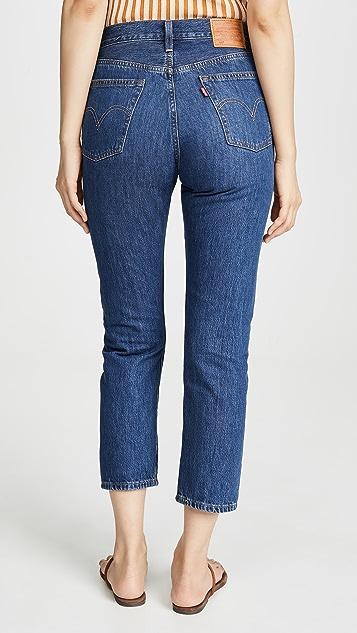 Levi's 501 七分牛仔裤