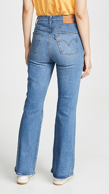 Levi's Ribcage 喇叭牛仔裤
