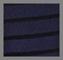 海军蓝/黑色条纹