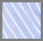 蓝色/白色