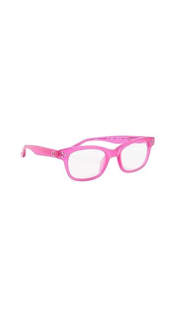 Linda Farrow Luxe Matthew Williamson x Linda Farrow 方形眼镜